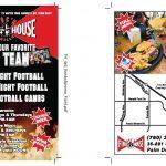 Football Specials Flyer