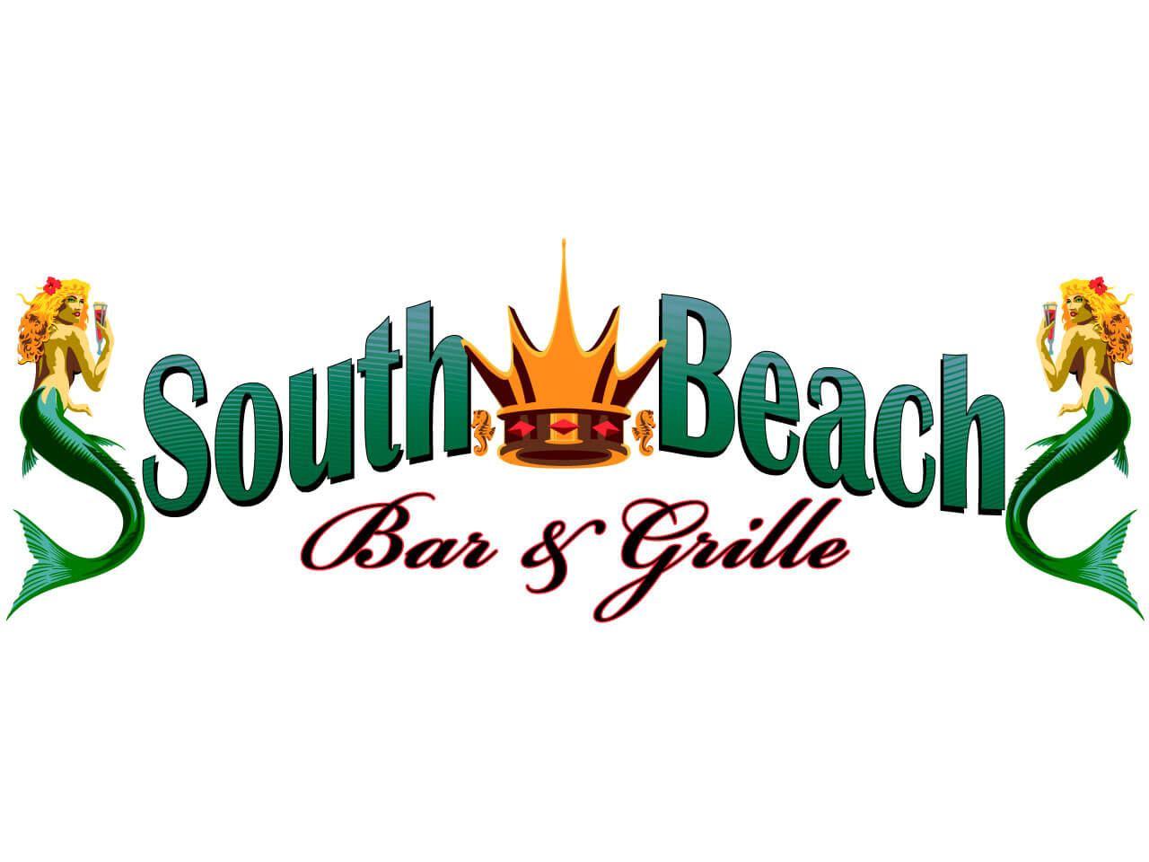 South Beach Bar and Grille logo treatment - titlebar